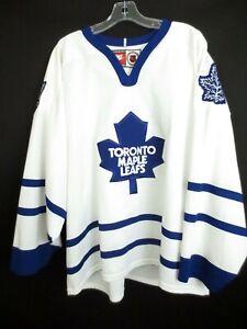 RARE Toronto Maple Leafs NIKE Hockey Jersey Stitched Shirt Men's Large