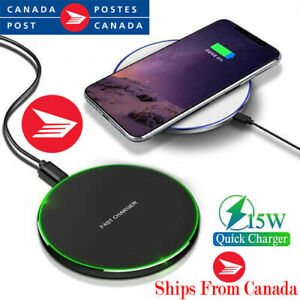NEW! Android, iPhone Wireless Charger, Qi Enabled Phones Only