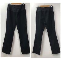 Gap Maternity 10 Long Womens Black Straight Leg Denim Jeans