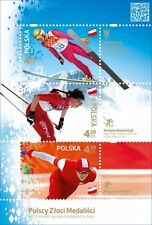 POLEN 2014 Polish Gold Medal Winners(2014; Nr kat.:4521-4523)
