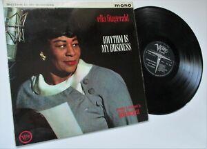 ELLA FITGERALD****RHYTHM IS MY BUSIMESS** 1962 VERVE RECORDS ALBUM*****TOP COPY*