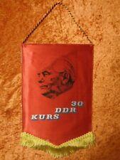 GDR Pennant - 30 Course - FDGB Bezirksvorstand Berlin - Vintage