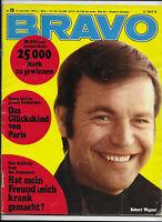 BRAVO Nr.25 vom 15.6.1970 Bee Gees, Beatles, Götz George, France Gall, Roy Black