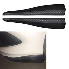 2x Universal Auto Stoßstangenschutz Leiste Stoßstange Schutzleisten Stahleinsatz