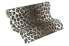 Tapete Leopard taupe schwarz Tapete AS Creation Decora Natur 6 6630-23 663023 (2