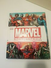 Marvel Encyclopedia (updated edition) by DK Book Superhero Spiderman Avengers