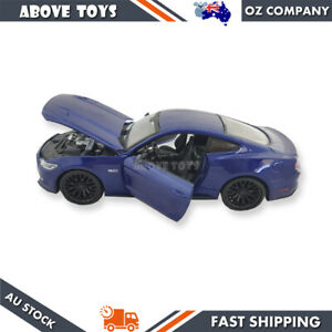 MAISTO diecast precision model car 2015 Ford MUSTANG Coupe-blue scale 1:24