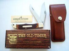SCHRADE USA 25OT FOLDING HUNTER OLD TIMER KNIFE