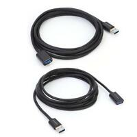 USB 3.0 Extension Cable USB3.0 Male to Female Extension Data Sync Cord Wire JF#E