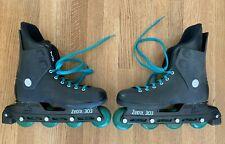 VTG Rollerblade Zetra 303 Inline Skates Teal Men's Sz 9.5 - All Original Clean