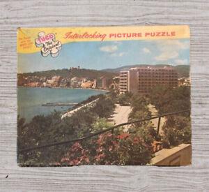 "Tuco Original Interlocking Picture Puzzle ""In Beautiful Majorca"" Wood-like #A28"
