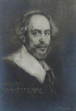Casco, retrato de William Shakespeare, para 1900, photogravure
