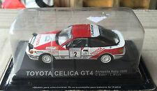 "DIE CAST "" TOYOTA CELICA GT4 ACROPOLIS RALLY - 1990 "" RALLY DEA SCALE 1/43"