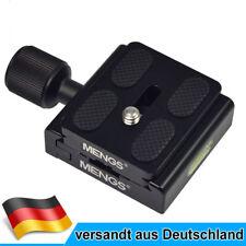 MENGS CL-50S Klemme + Schnellwechselplatte Für DSLR Kamera und Stativkopf