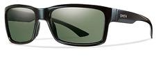 NEW Smith Dolen Sunglasses-Black-Chromapop Grey Polarized-SAME DAY SHIPPING