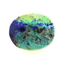 AZURITE Chrysocolla (gold-solder) Ténorite. 3.36 cts. Madagascar