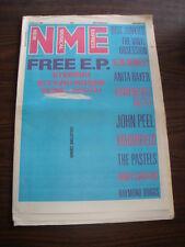 NME 1987 FEBRUARY 7 BLOW MONKEYS ANITA BAKER JOHN PEEL PASTELS RANDY CRAWFORD <