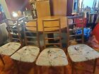 Danish Niels Koefoed for Koefoeds Hornslet dining table & Chairs set Syracuse NY