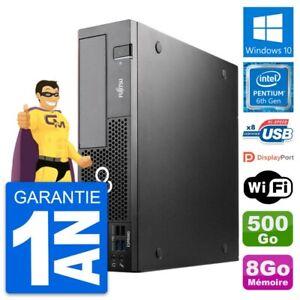 PC Fujitsu Esprimo D556 DT Intel G4400 RAM 8Go Disque Dur 500Go Windows 10 Wifi