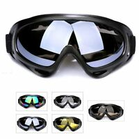 Anti fog Dust Wind UV Ski Snow Snowboard Goggles Helmet Ski Sunglasses Glasses