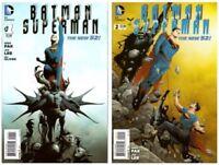 Batman Superman #1 - 2 (2013 DC Comics)