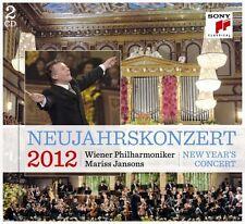 NEUJAHRSKONZERT 2012 (LTD. GERMAN VERSION) 2 CD NEU