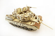 Mechanical wooden 3D puzzle - CAYMAN Tank
