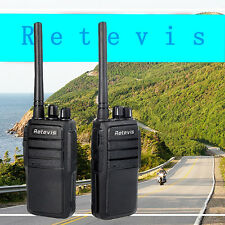 2X Retevis RT21 walkie talkie 0.5W UHF 400-470MHz 16CH 2-Way Radio AU Plug ship