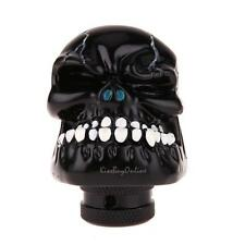 Black Skull Head Universal Car Truck Manual Stick Gear Shift Knob Lever Shifter