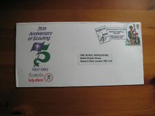 1982 Boy Scouts Great Britain 75th anniv. FDC Baden Powell House SHS