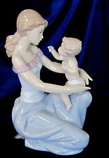 "Lladro - ""One For You One For Me"" #6705 - Motherchild Baby $595"
