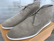 600$ Tod's Tan Polacco Gomma Leggero Boots Size US 12.5 Made in Italy