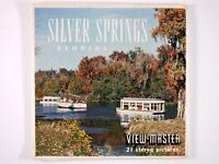 View-Master SILVER SPRINGS FLORIDA (A962) – 3 reels – RR