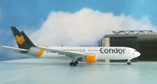 """Herpa Wings 1:5500 27521-001  Condor Boeing 767-300ER """"Sunny Heart"""" colors"""