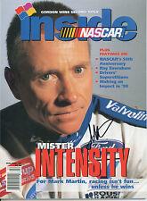MARK MARTIN SIGNED 1998 INSIDE NASCAR MAGAZINE W/ COA