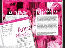 "Sarah Joy Miller ""ANNA NICOLE"" (Smith) the Opera 2013 American Premiere Playbill"