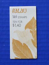 Palau (#130a) 1987 Indigenous Flowers MNH booklet