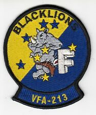 VFA-213 BLACKLIONS RHINO F SHOULDER PATCH