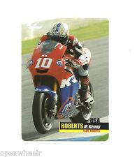 Kenny Roberts Jr. Team Roberts MotoGP Plastic Card
