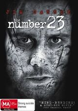The Number 23 (DVD, 2007) JIM CARREY / MYSTERY THRILLER /