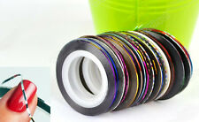 15 x Colours Nail Art Striping Tape Line Tips Nail Decoration Sticker