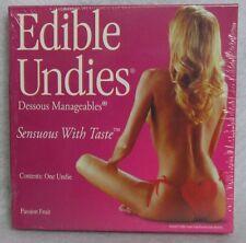 Edible Undie Female Passion Fruit Adjustable Pantie Playful Lingerie Romance