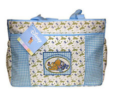 "Classic Winnie the Pooh Disney ""Honey Pots"" Baby Large Tote Diaper Bag NEW"