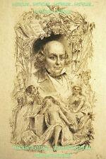 GRAVURE FRONTISPICE 19è Gustave STAAL 1817-1882 Pincebourde éditeur