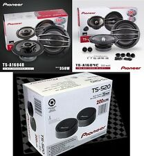 Pioneer TS-A1604C + TS-A1684R +TS-S20 20 Car Speakers Package Front Rear Package