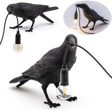 Resin Seletti Bird Table Lamps Crow Desk Lamp Bedroom...