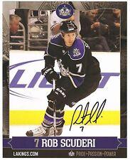 NHL defensemen SIGNED photos Tom Preissing Rob Scuderi Kevin Dallman, lot of 3