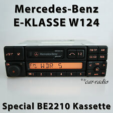 Original Mercedes Special BE2210 Becker Kassette W124 Radio C124 E-Klasse 1-DIN