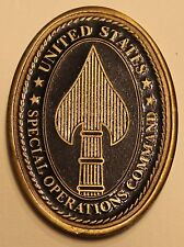 Gen Henry Hugh Shelton Special Operation Cmd Commander Army Challenge Coin  V1