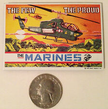 "NEW ""The Marines"" Porcelain on Steel MAGNET by Ande Rooney, No longer made"